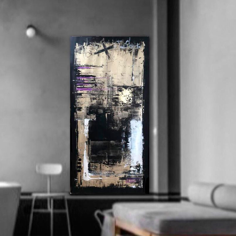 "Obra ""95%"" de Maru Lorenzetti, Cuadro de Autor"